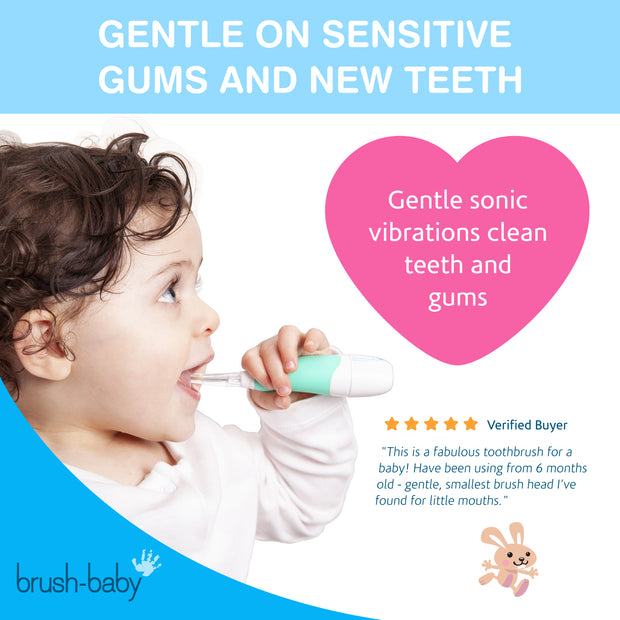 BabySonic Electric Toothbrush (0-3 years) - TEAL