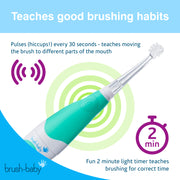 BabySonic Electric Toothbrush (0-3 years) - TEAL - BrushBaby
