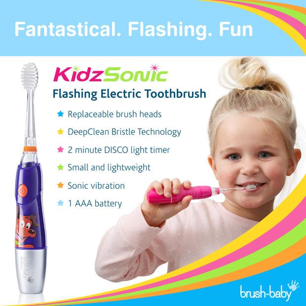 KidzSonic Electric Toothbrush (6+ Years) - Purple