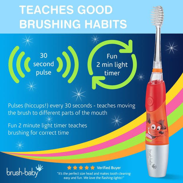 KidzSonic Electric Toothbrush (6+ Years) - Red