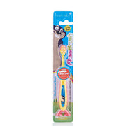 flossbrush_age 3-6_yellow brush baby best childrens toothbrushes pack