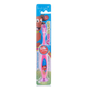 flossbrush_age 6+_pink brush baby best childrens toothbrushes pack