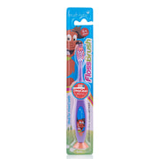 flossbrush_age 6+_purple brush baby best childrens toothbrushes pack