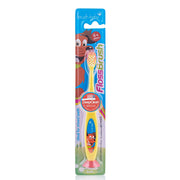 flossbrush_age 6+_yellow brush baby best childrens toothbrushes pack