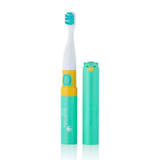 go kidz travel toothbrush childrens electric toothbrushes teal