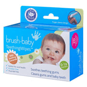 Value Pack of 6 Boxes Teething Wipes (0-16 months) - BrushBaby