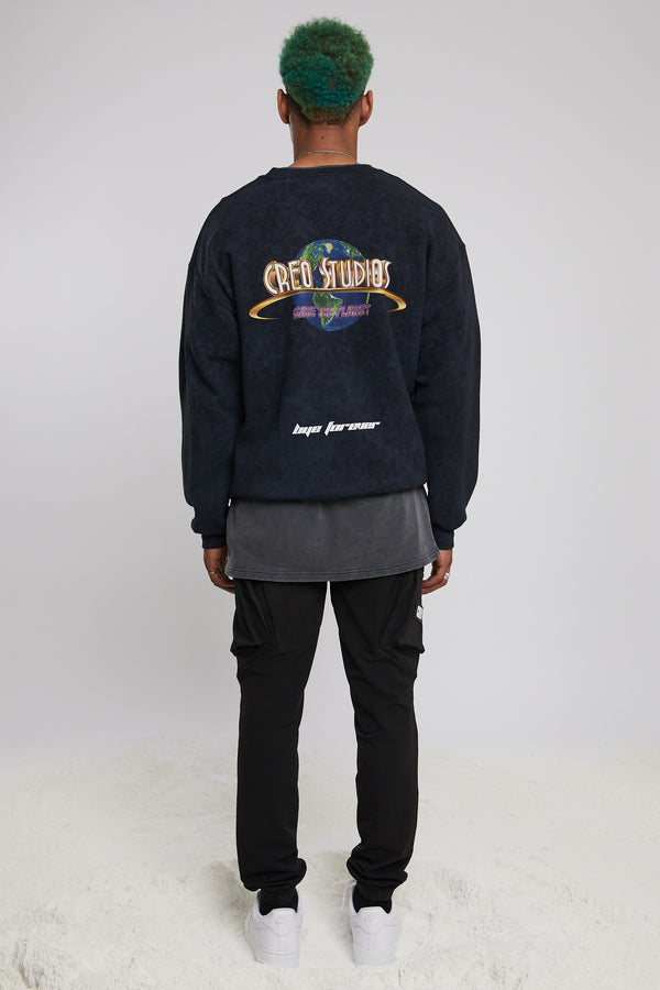Black Moonrock Universal Sweatshirt