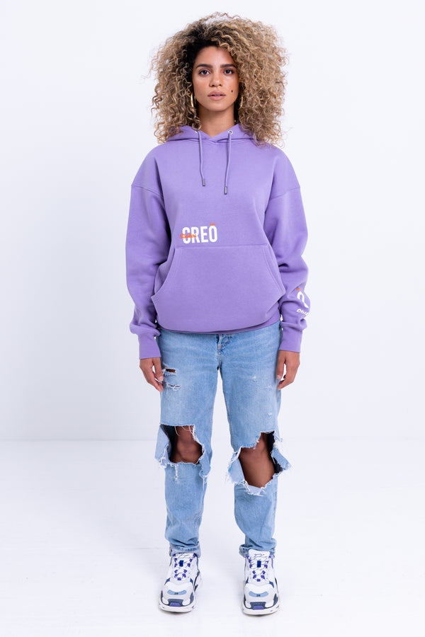 "Merchandise -- ""C.R.E.O"" Hoody Purple Haze"
