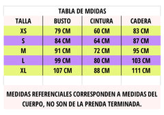 tabla de tallas kinibe