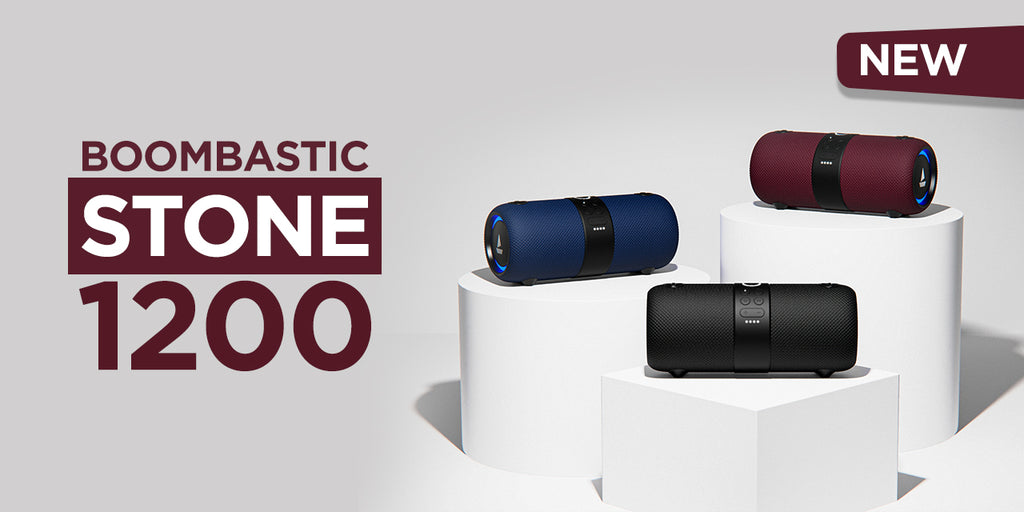 Introducing boAt Stone 1200 - Wireless Bluetooth Speaker