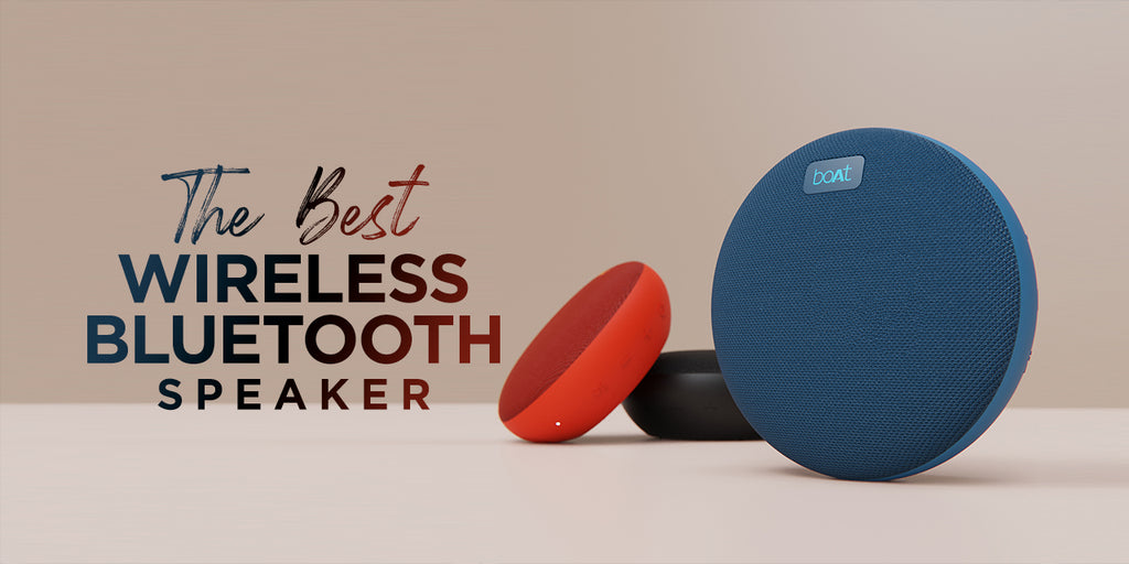 Introducing Portable Wireless Speaker | boAt Stone 180