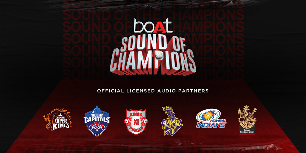 boAt Is Now The Official Audio Partner For Six IPL Teams