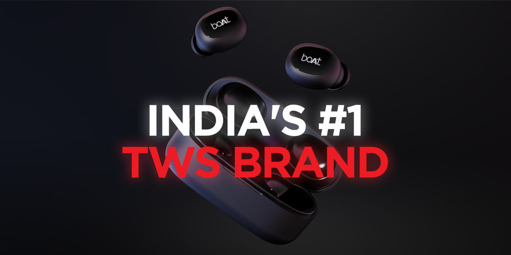 Homegrown Brand boAt Becomes India's TWS Leader