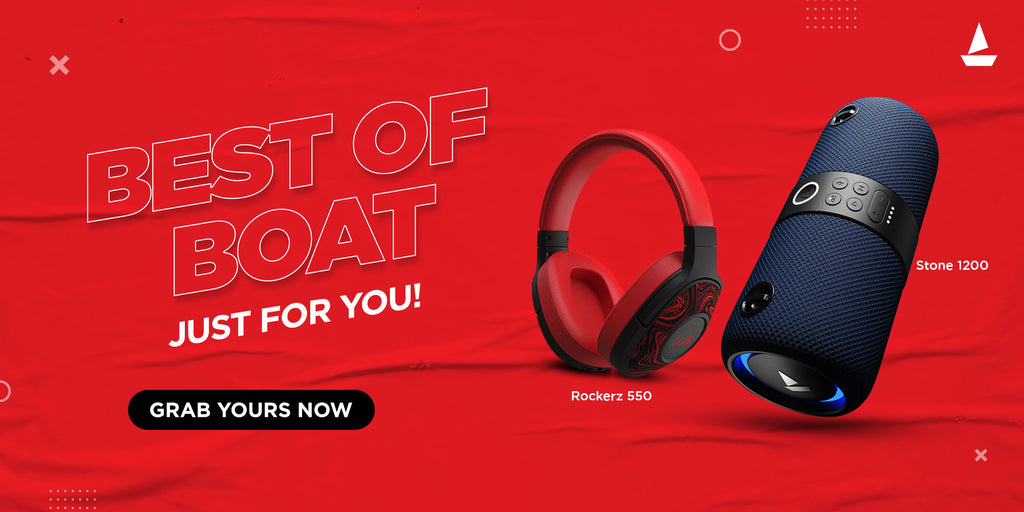 boAt-lifestyle.com - Get Upto 75% off on Best of boAt Speakers and Headphones