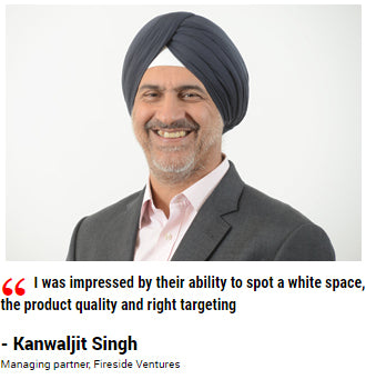 Kanwaljit Singh Managing partner, Fireside Ventures