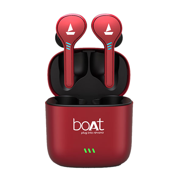 boAt Airdopes 431 Red