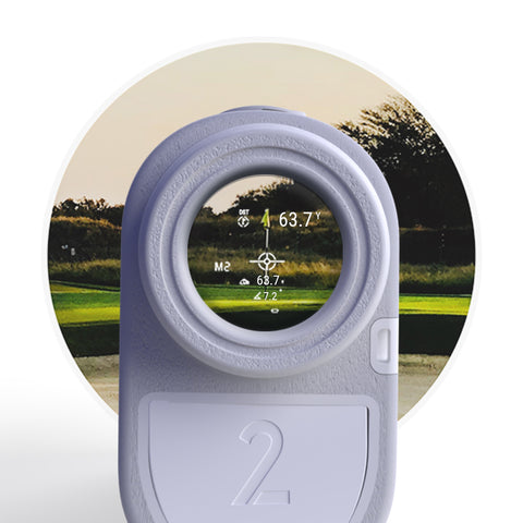 Series 2 Golf Rangefinder - Blue Tees Golf
