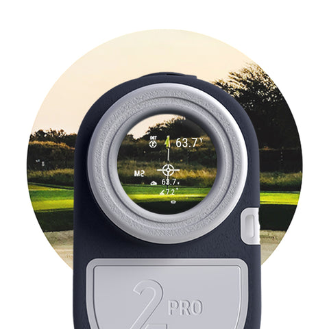 S2 Pro Slope Golf Rangefinder - Blue Tees Golf