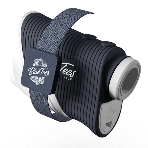 Navy Rangefinder Magnetic Strap - Blue Tees Golf