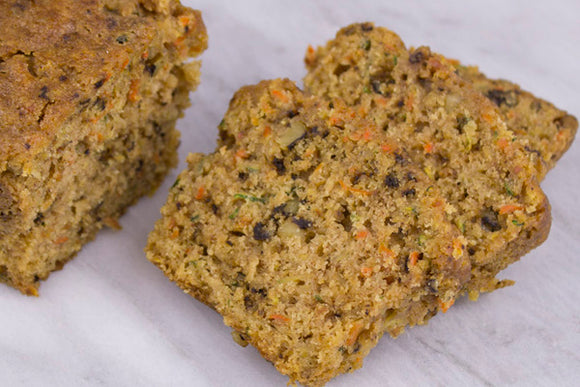Zucchini Walnut Bread 6 Pack Mini Loaf Basket