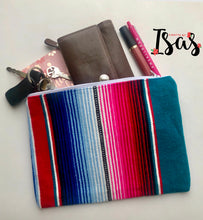 Load image into Gallery viewer, Sarape Zipper Pouch/Clutch