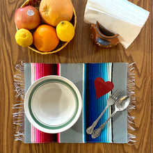 Load image into Gallery viewer, Placemat/ Sarape Reversible Tapete- María