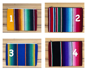 Sarape Zipper Pouch/Clutch