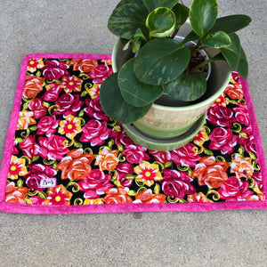 Quilted Frida Placemat