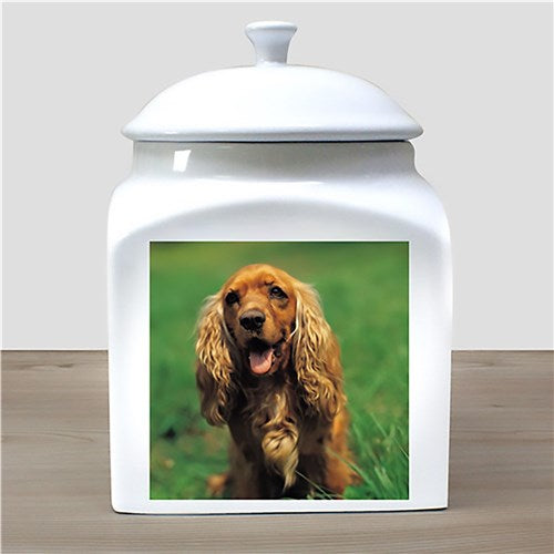Photo Ceramic Pet Urn