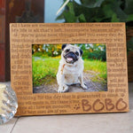 Engraved Memories Pet Memorial Wood Picture Frame