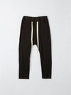 bassike original panel detail pant in black