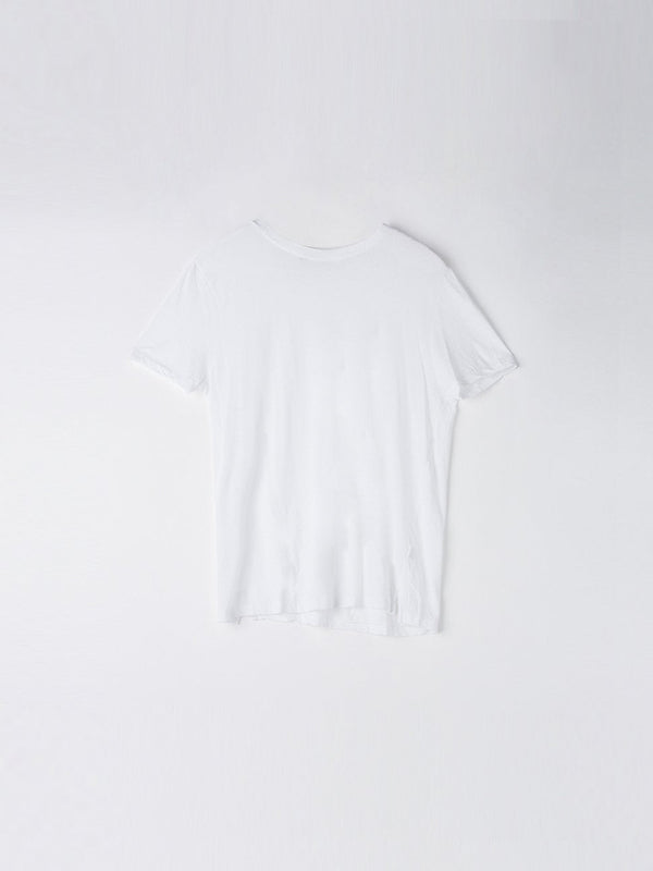 bassike classic vintage t.shirt in white