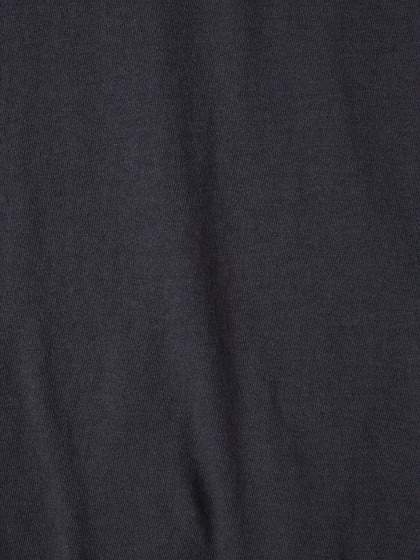 bassike classic vintage t.shirt in washed navy