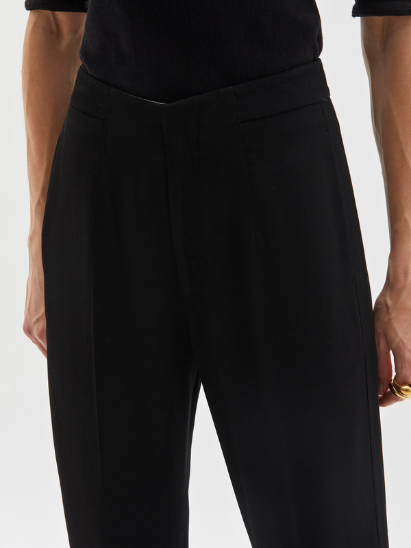 travel pant II in black