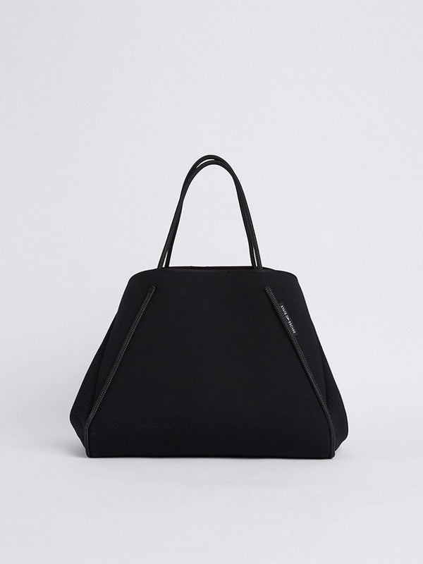 bassike state of escape guise tote bag in blackout
