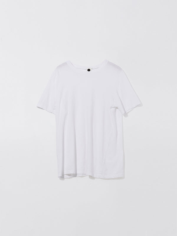 bassike layering t.shirt in white