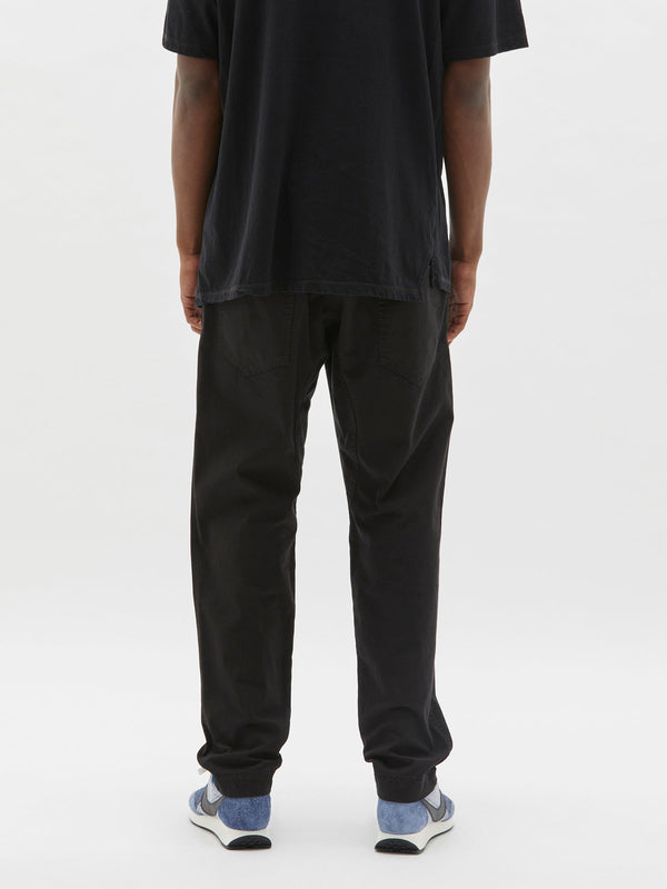 lo slung pull on pant in black