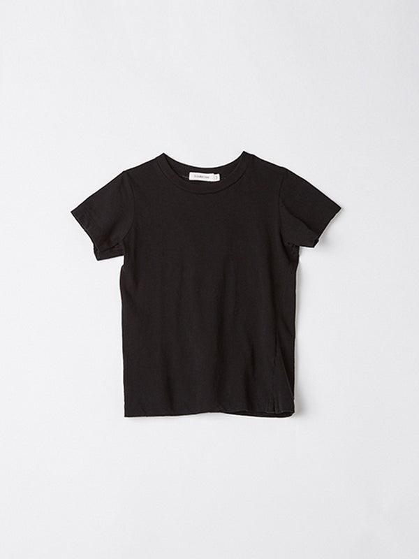 bassike mini classic vintage t.shirt in black