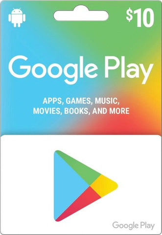 GOOGLE PLAY GIFT CARD EMAIL DELIVERY 10$