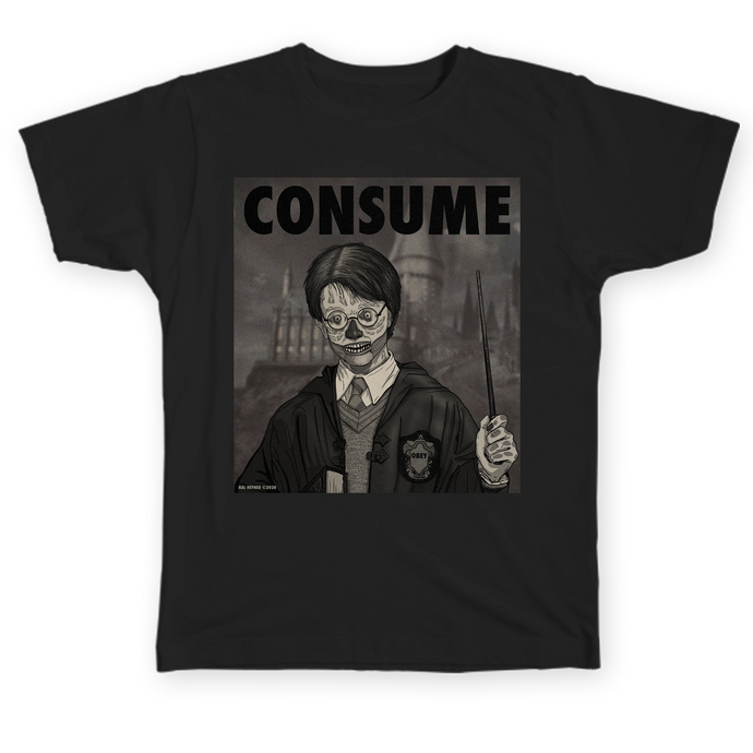 CONSUME - HARRY - Black and White