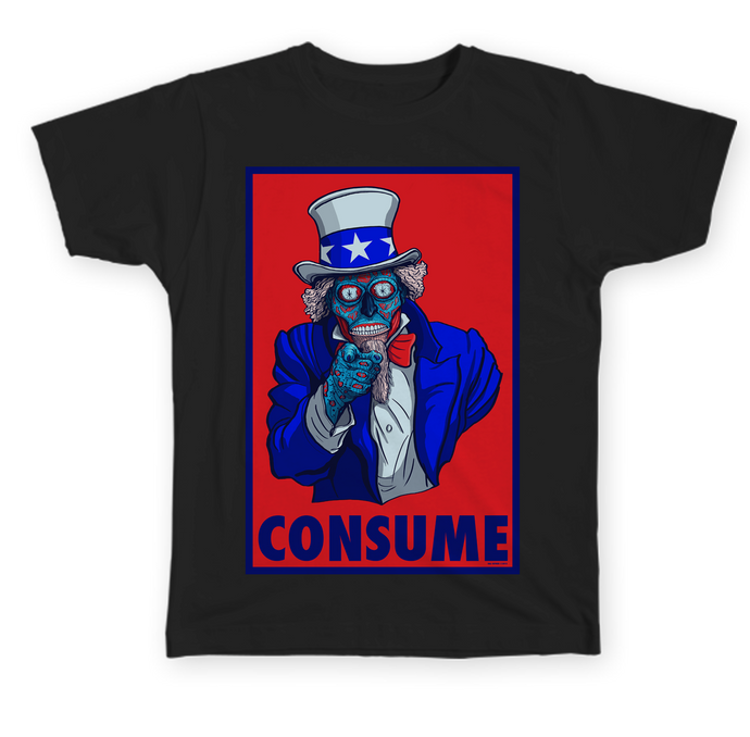 Consume they live hal hefner uncle sam pop art