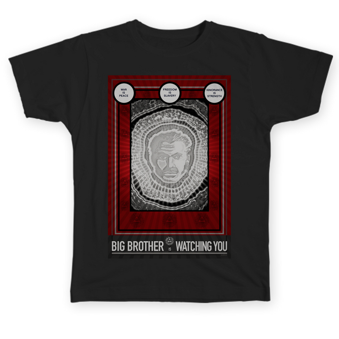 Big Brother is Watching You - Pop Culture t-shirt by Hal Hefner