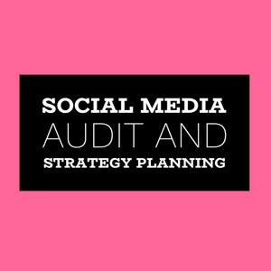 Social Media Audit + Strategy Planning