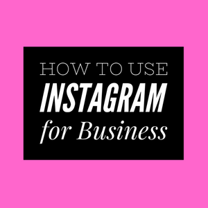 Instagram for Business- Dates tbc- Online Option available