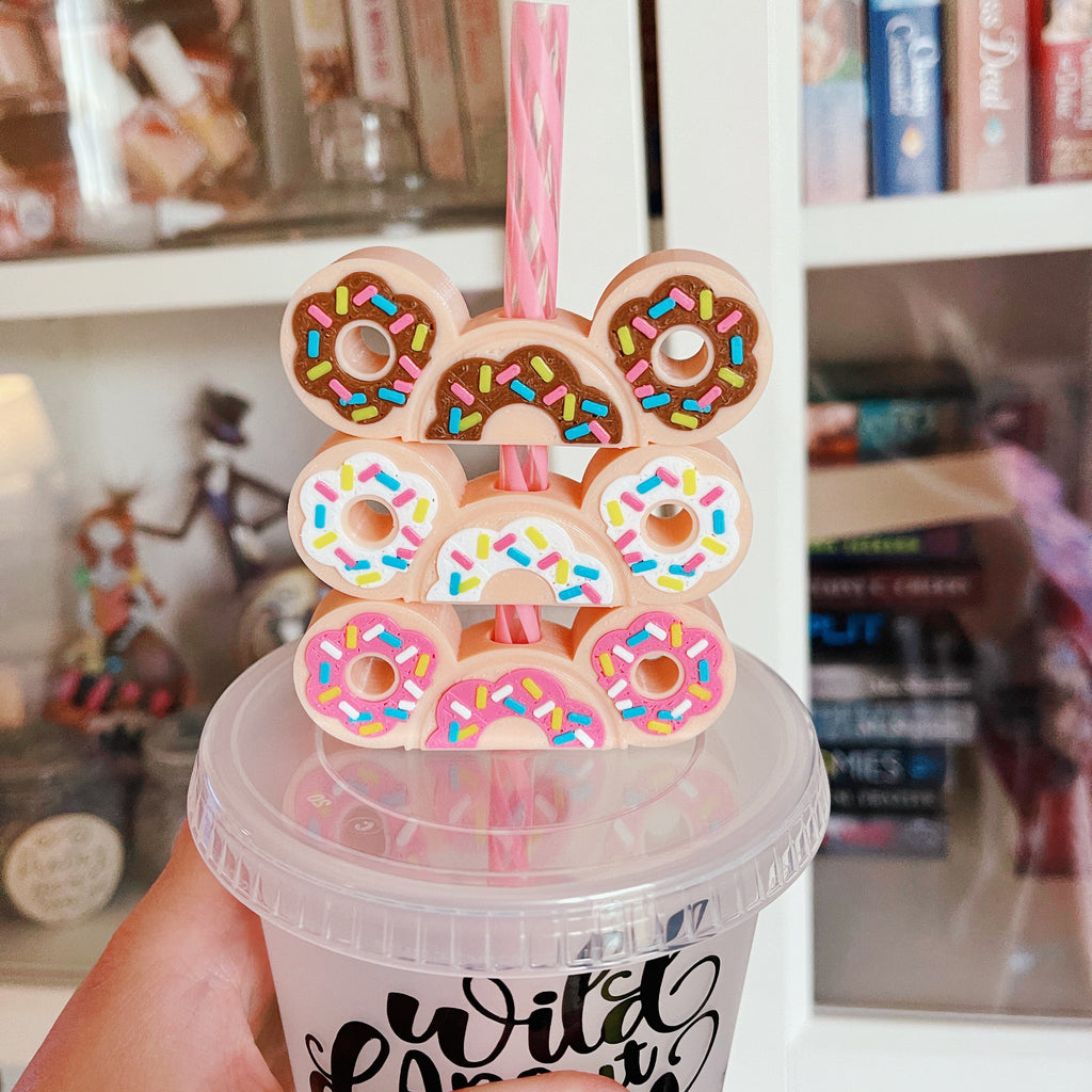 Donut Straw Buddy