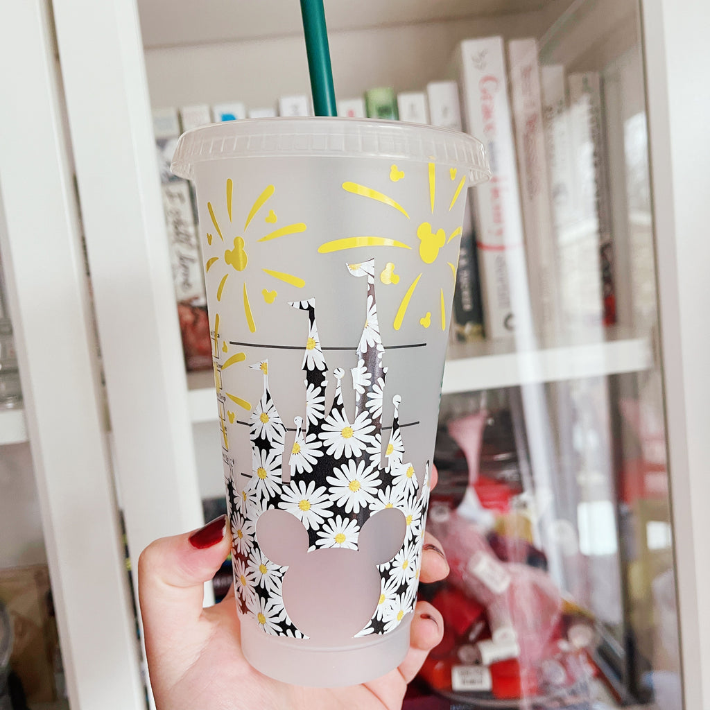 Daisy Mouse Inspired Castle Cold Cup