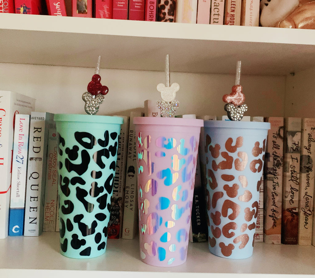 Cheetah Print Inspired 22 oz. Matte Reusable Tumblers