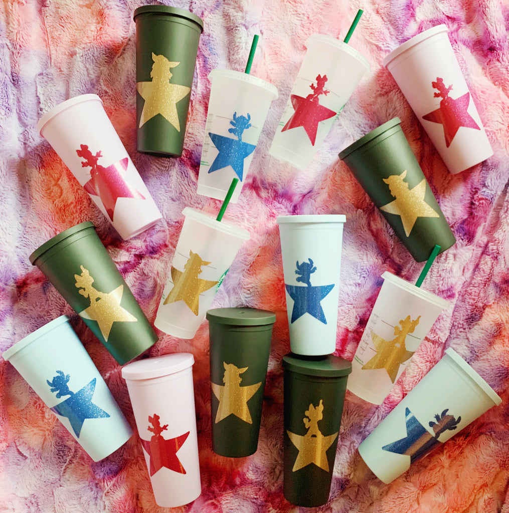 Musical Inspired Founding Father Cold Cup and Tumbler