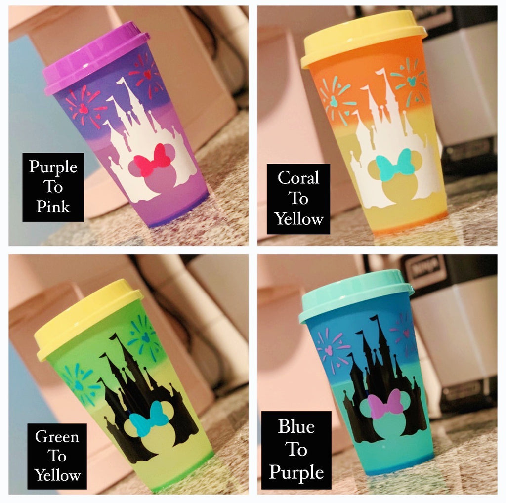 Castle Color Changing Hot Cup Mystery Bag