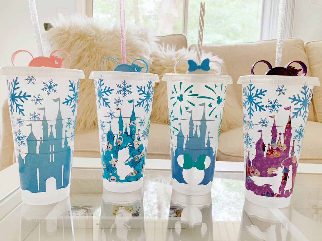 Frozen Inspired Castle Cold Cup